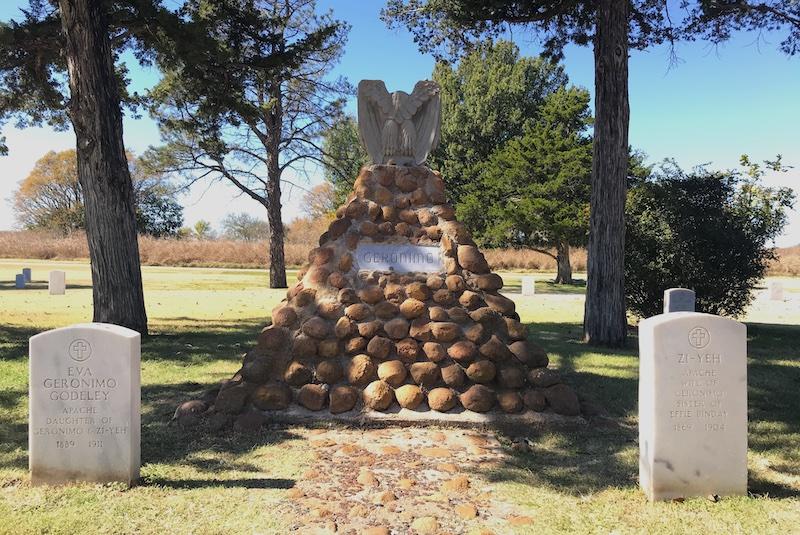 Geronimos Grab in Fort Sill, Oklahoma