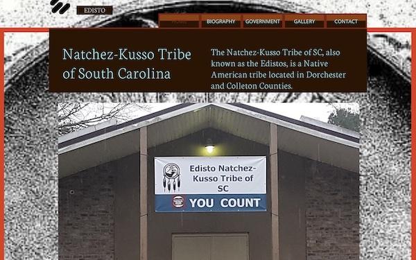 Webseite der Natchez-Kusso